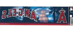 LOS ANGELES ANGELS OFFICIALLY LICENSED BUMPER STICKER / DECA