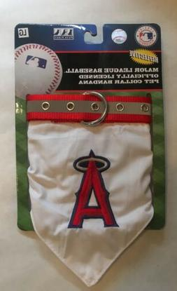 Los Angeles Angels Officially Licensed Large Pet Collar Band
