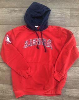 Los Angeles Angels Pullover Hooded Sweater Youth XL