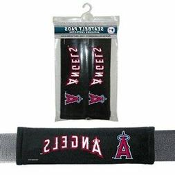 Los Angeles Angels Seat Belt Pads 2 Pack  Car Luggage Seatbe