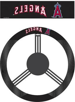 Los Angeles Angels Steering Wheel Cover MLB Baseball Team Lo