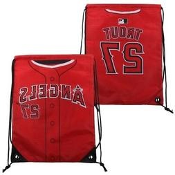 Los Angeles Angels Trout M. #27 Drawstring Backpack