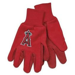 Los Angeles Angels Two Tone Adult Size Gloves  NFL Work Hand