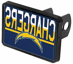 Los Angeles Chargers Color 2-Tone Universal HITCH Bumper Tra