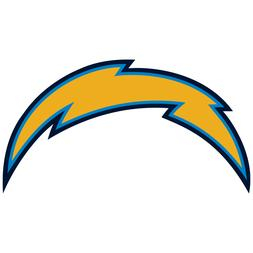 Los Angeles Chargers NFL Football Vinyl Sticker Car Truck Wi