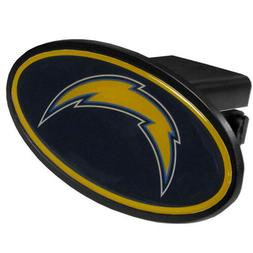 Los Angeles Chargers Plastic Oval Trailer Hitch Cover