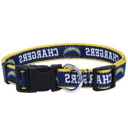 LOS ANGELES CHARGERS Single-Sided NFL Dog Pet Collars