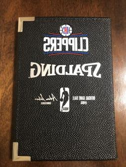 Los Angeles CLIPPERS Official Spalding NBA basketball textur