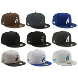 Los Angeles Dodgers LAD MLB Authentic New Era 59FIFTY Fitted