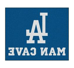 Los Angeles Dodgers Man Cave 5' X 6' Tailgater Area Rug Floo
