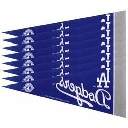 Los Angeles Dodgers Mini Pennant Set: 8-Pack