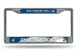 Los Angeles Dodgers MLB Chrome License Plate Frame