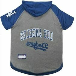 Los Angeles Dodgers MLB Hoodie Tee size: Small