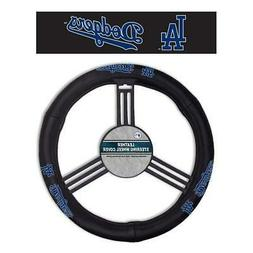 Los Angeles Dodgers MLB Leather Steering Wheel Cover Univers