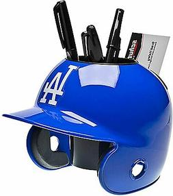 LOS ANGELES DODGERS MLB MINI BASEBALL HELMET DESK CADDY