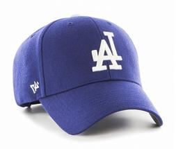 Los Angeles Dodgers 47 Brand MVP Clean Strap Adjustable Fiel