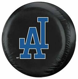 Los Angeles Dodgers Tire Cover Standard Size Black Special O