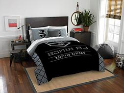 Los Angeles Kings - 3 Piece FULL / QUEEN SIZE Printed Comfor
