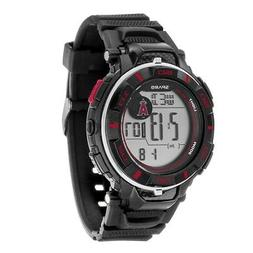 Los Angeles LA Angels MLB Team Watch with Digital Readout an