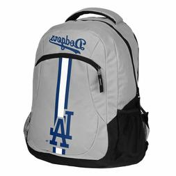 Los Angeles LA Dodgers Logo Action BackPack School Bag Back