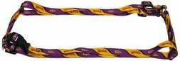 Los Angeles LA Lakers Extra Small XS 5/8 IN Adjustable Pet H