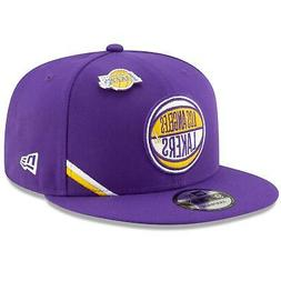 Los Angeles Lakers Hat 2019 Official NBA Draft 9FIFTY Adjust