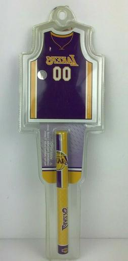Los Angeles Lakers NBA Notepad and Pen Set New In Package