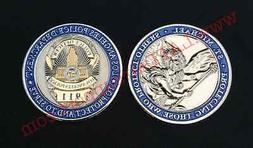 Los Angeles Police Department St. Michael Challenge Coin LAP