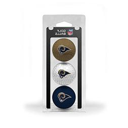 St. Louis Rams Official NFL 3 Ball Set by Team Golf 32505