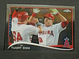 Mike Trout 2014 Topps Chrome Photo Variation SSP #1 Los Ange