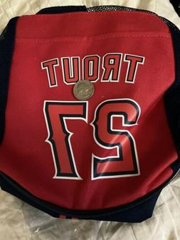 Mike Trout Cooler Backpack Los Angeles Angels