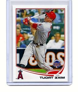 mike trout los angeles angels 2013 topps