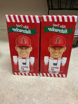 MIKE TROUT LOS ANGELES ANGELS NUTCRACKER SGA NEW IN BOX  2 S