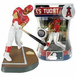 Mike Trout Los Angeles Angels Red Imports Dragon Baseball Ac