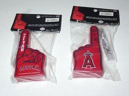MINI FOAM TOPPER  Los Angeles ANAHEIM Angels  #1 FAN   Set o