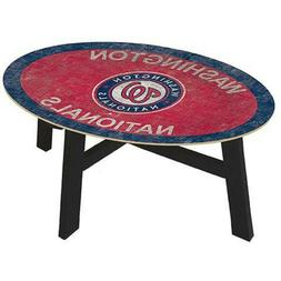 "MLB Coffee Table 46"" With Glass Top Team Color NEW SELECT YO"