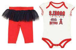 Outerstuff MLB Infant Los Angeles Angels Little Cutie Creepe