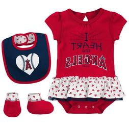 Outerstuff MLB Infant Los Angeles Angels Play With Heart Cre