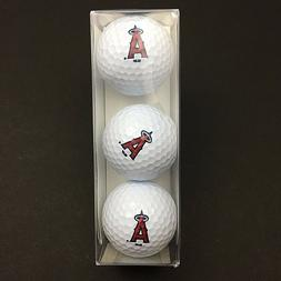 MLB   Los Angeles Angels Anaheim Team Logo Golf Balls 3-pack