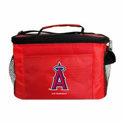 MLB Los Angeles Angels Lunch Bag - Insulated Box Tote - 6-Pa