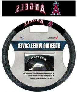 MLB Los Angeles Angels Steering Wheel Cover Mesh