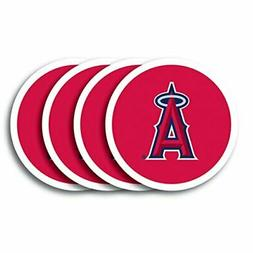 MLB Los Angeles Angels Vinyl Coaster Set