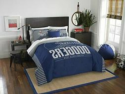 MLB Los Angeles Dodgers Full / Queen Comforter and Sham Set