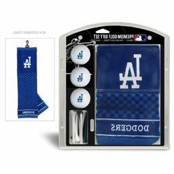 MLB Los Angeles Dodgers Golf Balls, Tees & Embroidered Towel