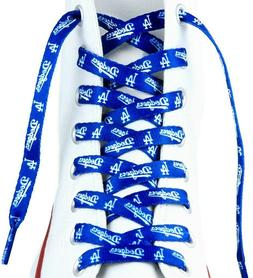 MLB Los Angeles Dodgers 54-Inch LaceUps Shoe Laces