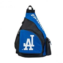 MLB Los Angeles Dodgers Royal Blue Leadoff Sling Backpack 21
