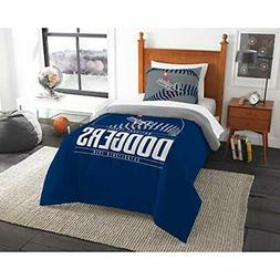 Los Angeles Dodgers MLB Twin Bed Comforter and Sham Set Size