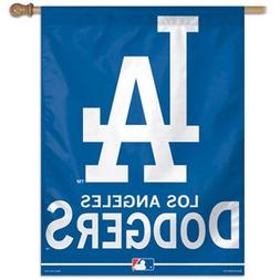 "MLB Los Angeles Dodgers Vertical Flag, 27"" x 37"""