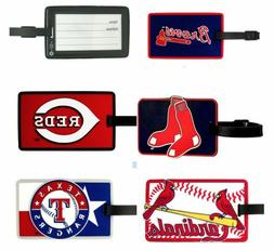 MLB Soft Rubber Luggage and Bag Tag - Pick Your Team