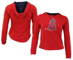 Majestic MLB Youth Girls Los Angeles Angels The Closer Pullo